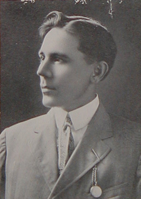 H.R. Cullen as a young cotton broker
